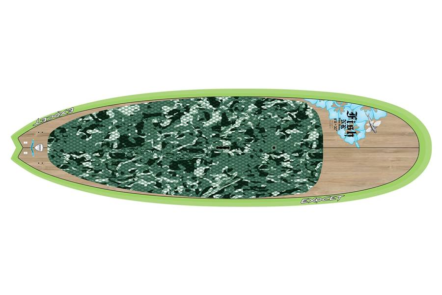 Fish Nose Rider 9'6 x 32 Bamboo Green