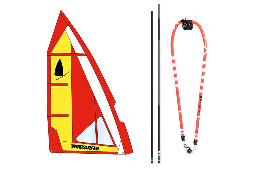 Windsurfer rig 5,7 Fire