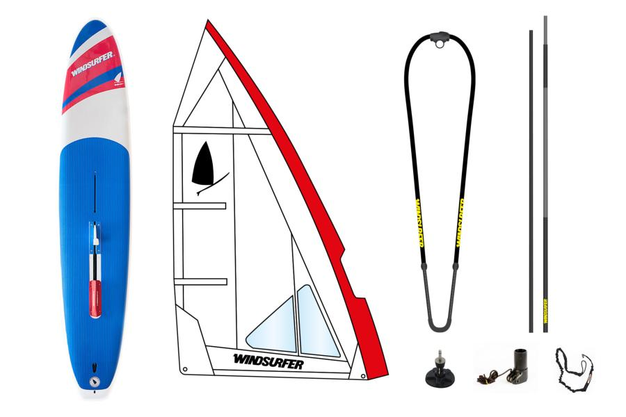Pack Windsurfer White