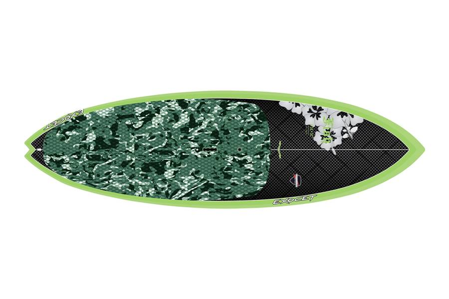 Fish 8'11 x 32 Carbon Green