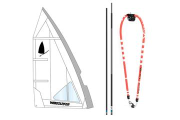 Windsurfer rig 5,7 XO Angel