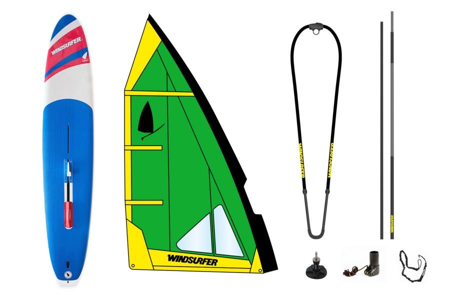 Pack Windsurfer Green