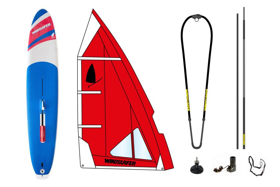 Pack Windsurfer Hot Red Used