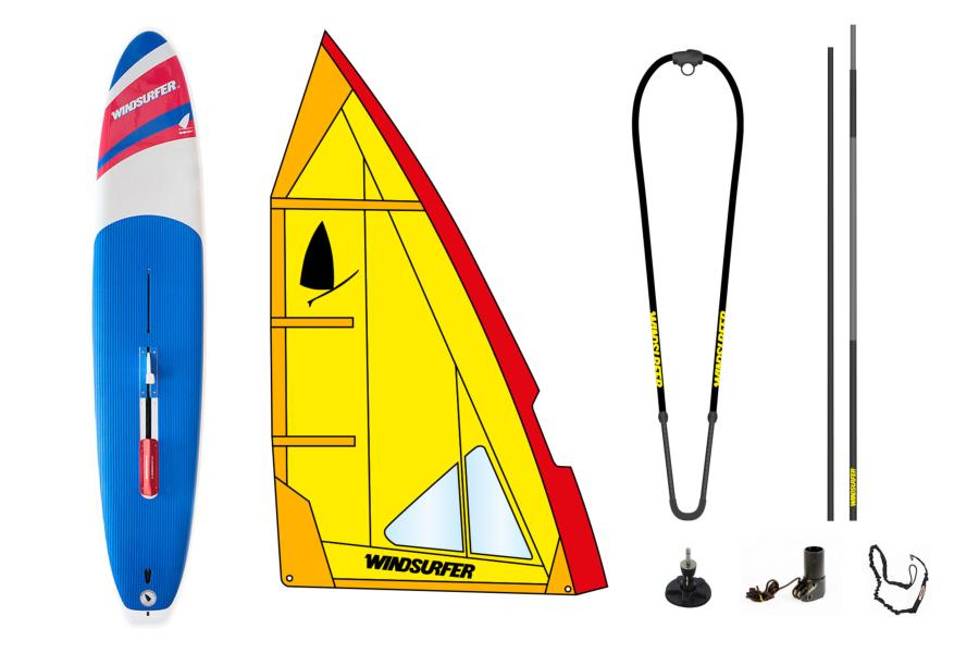 Pack Windsurfer Yellow Used