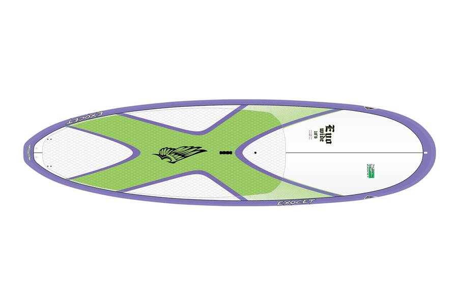 Evo WIDE 10'6 AST Fitness Purple