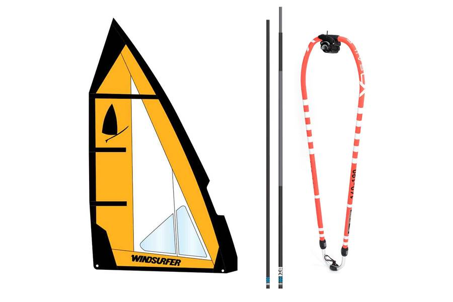 Windsurfer rig 5,7 King