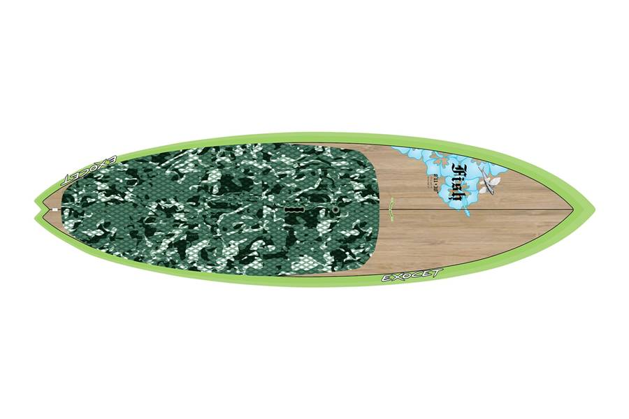 Fish 8'11 x 30 Bamboo Green